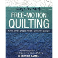 Step-by-Step Free Motion Quilting Book