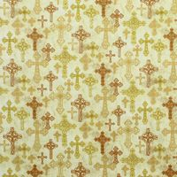 A Beautiful Place, Cross Fabric, Tan