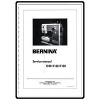 Service Manual, Bernina (Bernette) 1130
