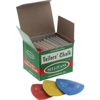 Tailors Chalk 12pc Set, Assorted Colors - Sullivans