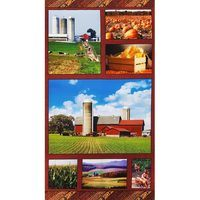 Heartland, American Spirit Fabric Panel