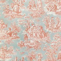 Waverly, Charmed Life, Clay Upholstery Fabric - 54""
