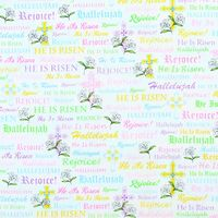 Quilting Treasures, A Joyful Easter Fabric, Pastels