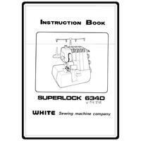 Instruction Manual, White 1900