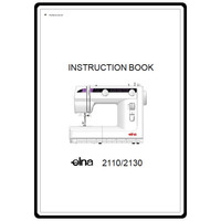 Instruction Manual, Elna 2130