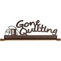 Gone Quilting Quilt Holder - Copper