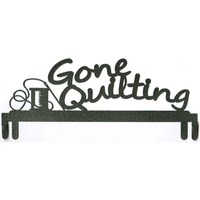 Gone Quilting Quilt Holder, 12in - Charcoal