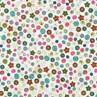 Quilting Treasures, Cute as a Button Fabric, Eggshell