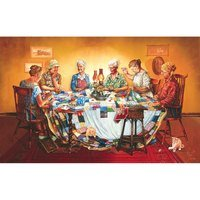 A Quilting Party 550pc Jigsaw Puzzle