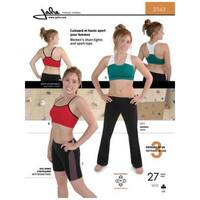 Sports Bra and Short Tights Pattern