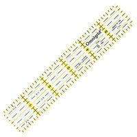 Ruler 1in x 6in, Omnigrid