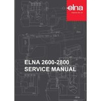 Service Manual, Elna 2600