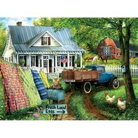 Countryside Living - 1000pc Jigsaw Puzzle