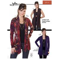 Pleated Cardigan and Vest Pattern