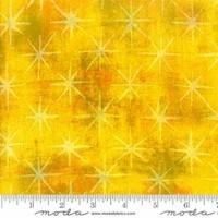 Moda Fabrics, Grunge Seeing Stars Fabric - Sunflower