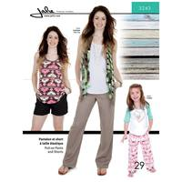 Pull-On Pants and Shorts Pattern