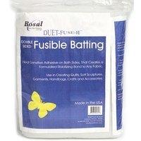 Bosal Duet II Double-Sided Fusible Batting - 45in