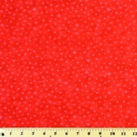 Moda Classic, Marble Stars, Red Fabric