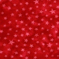 Moda Classic, Marble Stars, Turkey Red Fabric