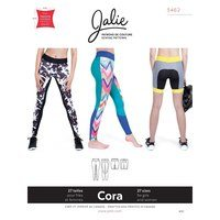 Cora Running Tights and Shorts Pattern