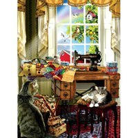 The Sewing Room - 1000pc Jigsaw Puzzle
