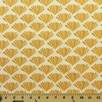 Moda, Sherri & Chelsi, Valley Fringe, Mustard Fabric