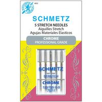 Chrome Stretch Needles, Schmetz (5pk)