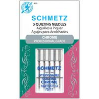 Chrome Quilting Needles, Schmetz (5pk)