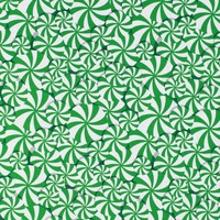 Studio E, Peppermint Reindeer, Allover Peppermint Fabric - Green