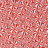 Studio E, Peppermint Reindeer, Allover Peppermint Fabric - Red