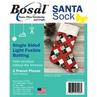 Bosal, Single Sided Light Fusible Batting for Santa Sock