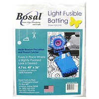 "Bosal Light Fusible Batting - 36"" x 45"""