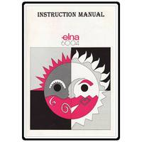 Instruction Manual, Elna 6004