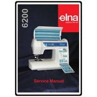 Service Manual, Elna 6200