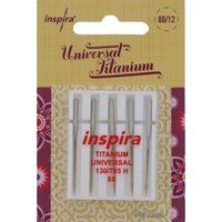 Inspira Titanium Machine Needles (5pk)
