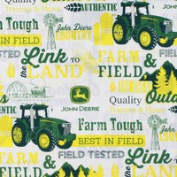 John Deere, Farm and Field, The Great Outdoors Fabric
