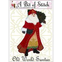 Old World Santas Machine Embroidery Design
