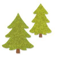 Sizzix Bigz L Die, Christmas Trees