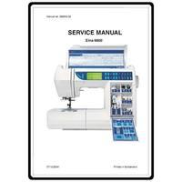 Service Manual, Elna 6600