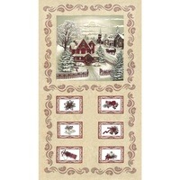 Moda, Once Upon a Memory Fabric Panel - Natural