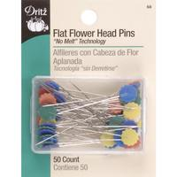 "Universal 2"" Flat Flower Head Pins (50 CT), Dritz"