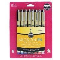Multi-color Micron Pens, .45mm (8pk)