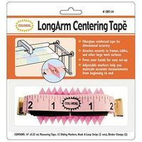 LongArm Centering Tape Measure w/ Markers