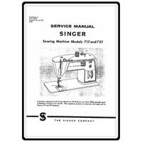 Service Manual, Singer 717