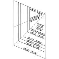 Ruler 45 Degree Triangle Tool, Stack N Whack