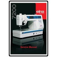 Service Manual, Elna 7200