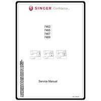 Service Manual, Singer 7463