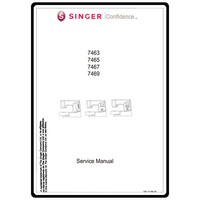Service Manual, Singer 7467 Confidence