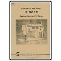 Service Manual, Singer 750-778