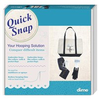 Dime, Quick Snap Multi Needle Hooping System - Janome